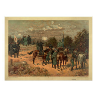 Battle of Chattanooga by Thure de Thulstrup Print