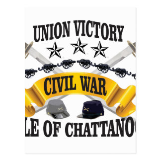 battle of  Chattanooga Postcard
