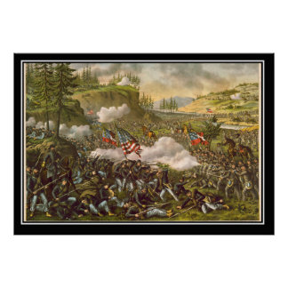 Battle of Chicamauga Georgia American Civil War Posters