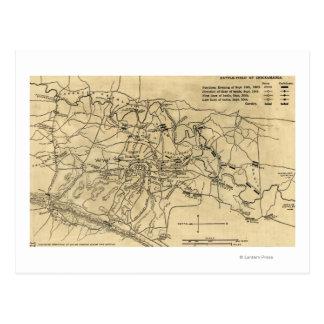 Chickamauga Map Gifts On Zazzle - Battle of chickamauga map