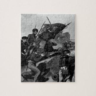 Battle of Churubusco - Capture of the Tete de Pont Jigsaw Puzzle