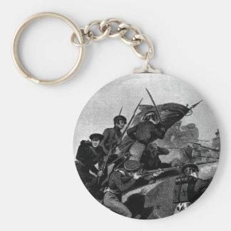 Battle of Churubusco - Capture of the Tete de Pont Keychain