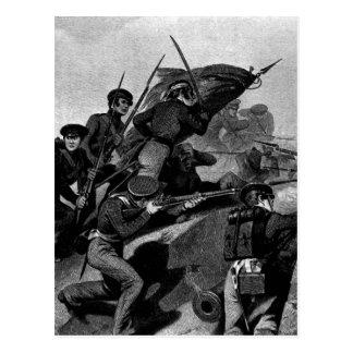 Battle of Churubusco - Capture of the Tete de Pont Postcard