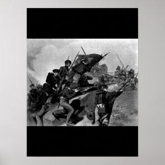 Battle of Churubusco - Capture of the Tete de Pont Poster