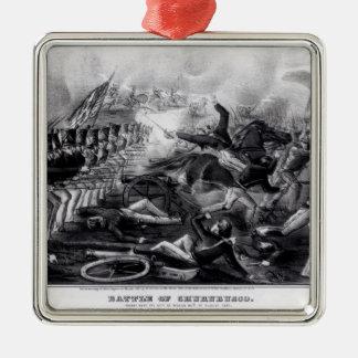 Battle of Churubusco Metal Ornament