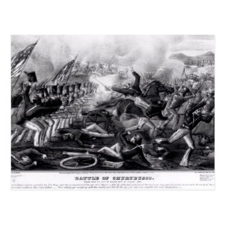 Battle of Churubusco Postcard