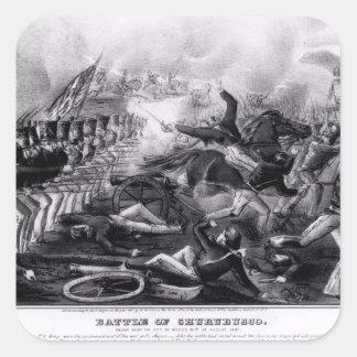 Battle of Churubusco Square Sticker