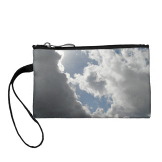 Battle of clouds coin purse