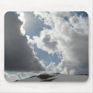 Battle of clouds mouse pad