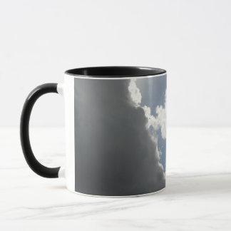 Battle of clouds mug