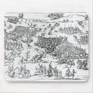 Battle of Courtrais Between French and Flemish Mouse Pad