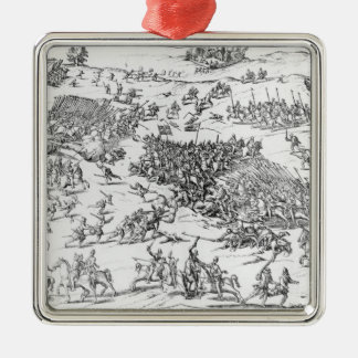 Battle of Courtrais Between French and Flemish Christmas Tree Ornaments