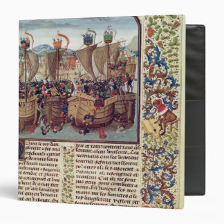 Battle of Ecluse, from 'Froissart's Chronicle' Binder