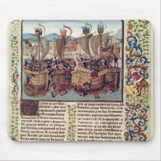 Battle of Ecluse, from 'Froissart's Chronicle' Mouse Pad