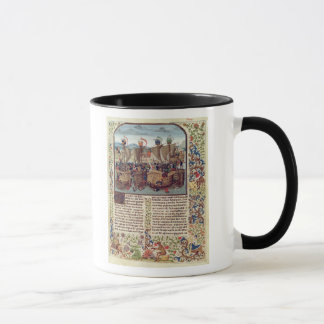Battle of Ecluse, from 'Froissart's Chronicle' Mug