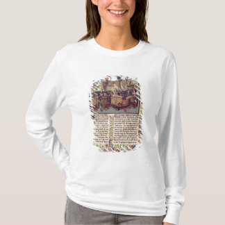 Battle of Ecluse, from 'Froissart's Chronicle' T-Shirt