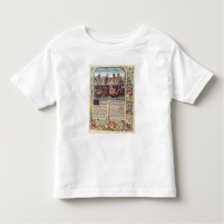 Battle of Ecluse, from 'Froissart's Chronicle' Toddler T-shirt