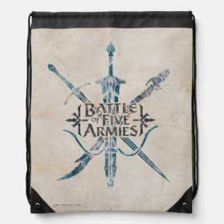BATTLE OF FIVE ARMIES™ Logo Drawstring Bag