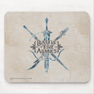 BATTLE OF FIVE ARMIES™ Logo Mouse Pad