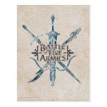 BATTLE OF FIVE ARMIES™ Logo Post Cards