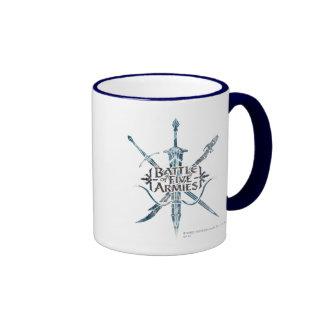 BATTLE OF FIVE ARMIES™ Logo Ringer Coffee Mug