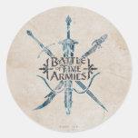 Battle Of Five Armies Logo Sticker