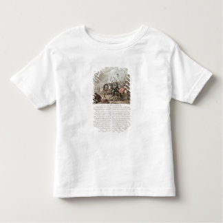 Battle of Fontenoy, 1745, engraved by Louis Le Coe T Shirt