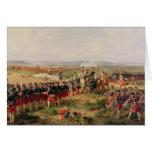 Battle of Fontenoy Card