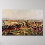 Battle of Fontenoy Poster