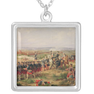 Battle of Fontenoy Silver Plated Necklace