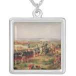 Battle of Fontenoy Square Pendant Necklace