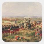 Battle of Fontenoy Square Sticker
