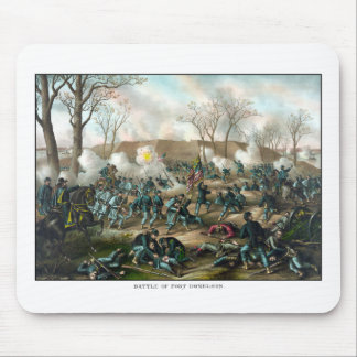 Battle of Fort Donelson -- Civil War Mouse Pad