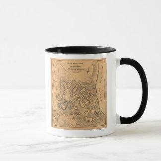 Battle of Fort Donelson - Civil War Panoramic Ma Mug