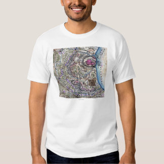 Battle of Fort Donelson - Civil War Panoramic T Shirt