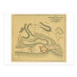 Battle of Fort Henry - Civil War Panoramic Map Postcard