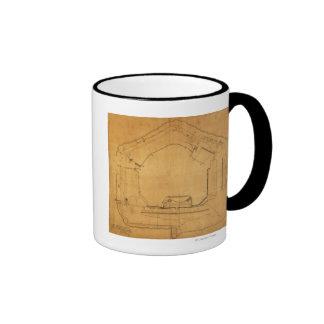Battle of Fort Sumter - Civil War Panoramic 3 Mug