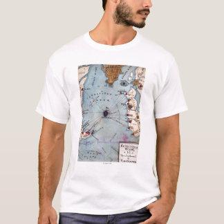Battle of Fort Sumter - Civil War Panoramic T-Shirt