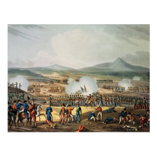 Battle of Fuentes D'Onoro,engraved by Thomas Postcard