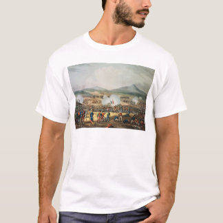 Battle of Fuentes D'Onoro,engraved by Thomas T-Shirt
