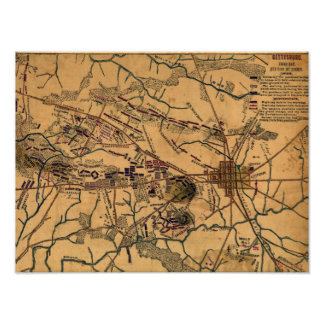 Battle of Gettysburg 10 Poster