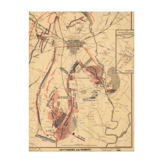 Battle of Gettysburg 12 Canvas Print