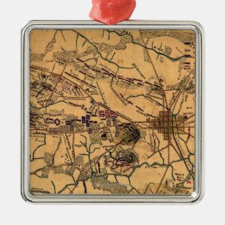 Battle of Gettysburg 14 Metal Ornament