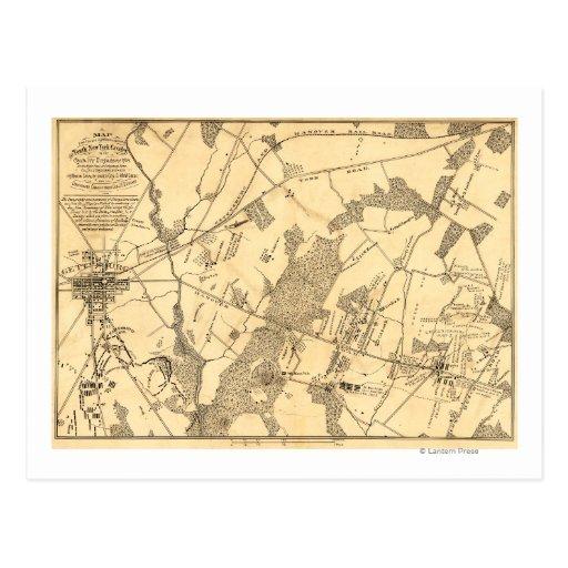 Battle of Gettysburg 16 Postcards
