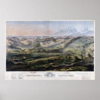 Battle of Gettysburg 2 Print