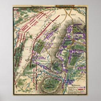Battle of Gettysburg 4 Print
