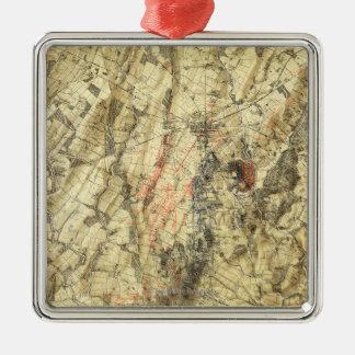 Battle of Gettysburg 5 Metal Ornament