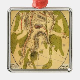 Battle of Gettysburg 7 Metal Ornament