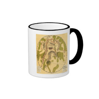 Battle of Gettysburg 7 Mugs