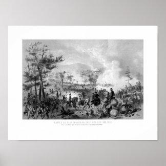 Battle of Gettysburg -- Civil War Print